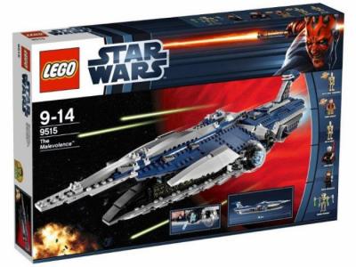Купить конструктор LEGO Star Wars Clone Wars: 9515 The Malevolence в Москве. Доставка лего по России.