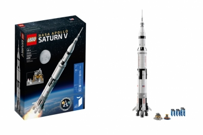 Лего 21309 nassa apollo saturn v