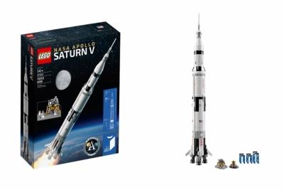 Лего 21309 nassa apollo saturn v