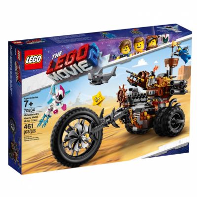The LEGO® Movie 2 70834 Хеви-метал мотоцикл Железной бороды!