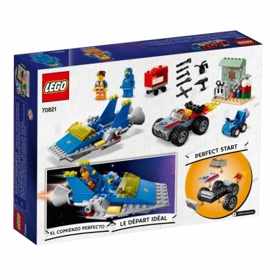 The LEGO® Movie 2 70821 Мастерская «Строим и чиним» Эммета и Бенни!