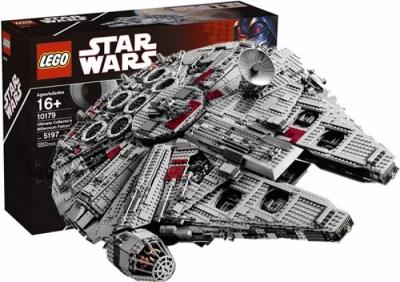 Купить конструктор LEGO Star Wars: Ultimate Collector Series: Star Wars Episode 4/5/6: 10179 Millennium Falcon - UCS в Москве. Доставка лего по России.