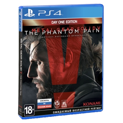 Metal Gear Solid V: The Phantom Pain Day 1 Edition (PS4)