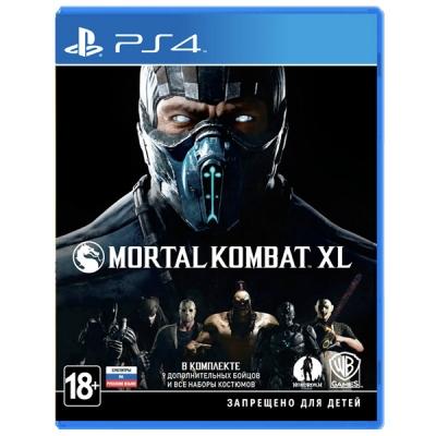 Mortal Kombat XL [PS4, русские субтитры]