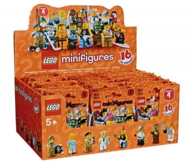 Купить конструктор LEGO Collectible Minifigures: Series 4 Minifigures: 4614586 Minifigure Series 4 (Box of 60) в Москве. Доставка лего по России.