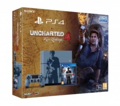 SONY PlayStation 4 «Uncharted 4: Путь вора» в ограниченной серии