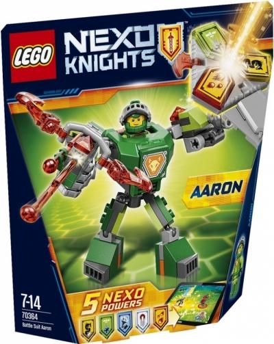 Купить Лего 70364 боевые доспехи Аарона 2017 год