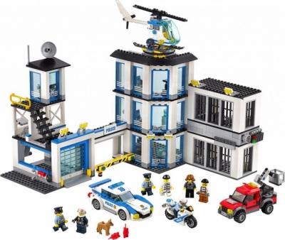 Полицейский участок (Lego 60141)