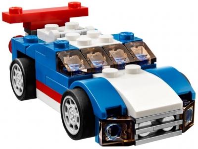 ЛЕГО 31027 Синий гоночный автомобиль CREATOR