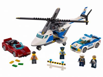 Стремительная погоня (Lego 60138)