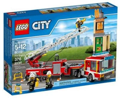 ЛЕГО 60112 Тушение пожара City