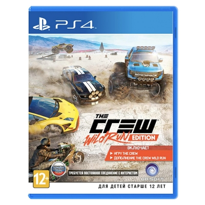 Crew. Wild Run Edition [PS4, русская версия]