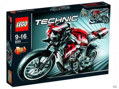 ЛЕГО 8051 Мотоцикл  Technic