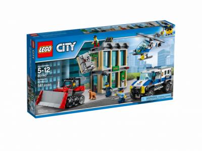 Ограбление на бульдозере (Lego 60140)