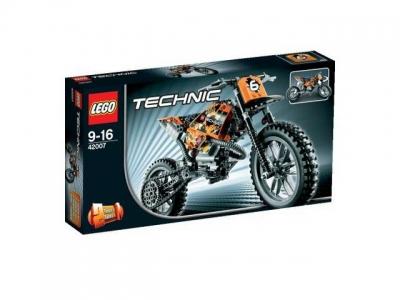 ЛЕГО 42007 Кроссовый Мотоцикл Technic
