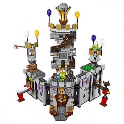 ЛЕГО 75826 Замок Короля свинок Angry Birds
