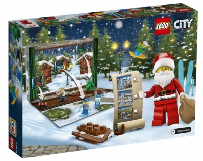 Лего 60155 Новогодний календарь