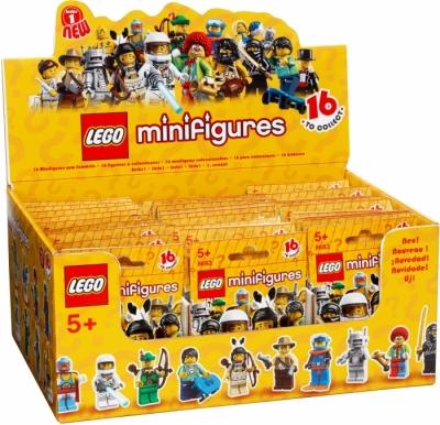Купить конструктор LEGOCollectible Minifigures: Series 1 Minifigures: 4570178 Minifigure Series 1 (Box of 60) в Москве. Доставка лего по России.
