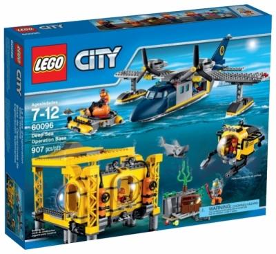 Купить конструктор Лего 60096 Глубоководная исследовательская база