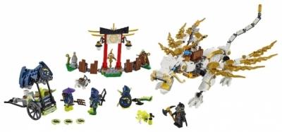Лего 70734 - Дракон Сэнсэя Ву (Белый)