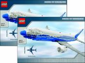 Инструкция Лего 10177 Boeing 787 Dreamliner