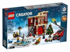 ЛЕГО 10263 Creator Пожарная часть в зимней деревне