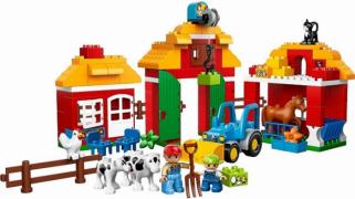 Lego Duplo 10525 Лего Дупло Большая ферма