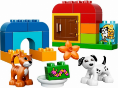 Lego Duplo 10570 Лего Дупло Лучшие друзья: кот и пес