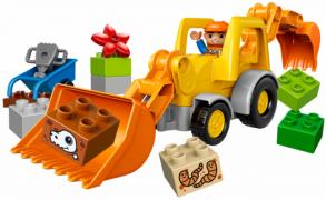 Lego Duplo 10811 Лего Дупло Экскаватор-погрузчик