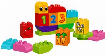 Lego Duplo 10831 Лего Дупло Моя веселая гусеница