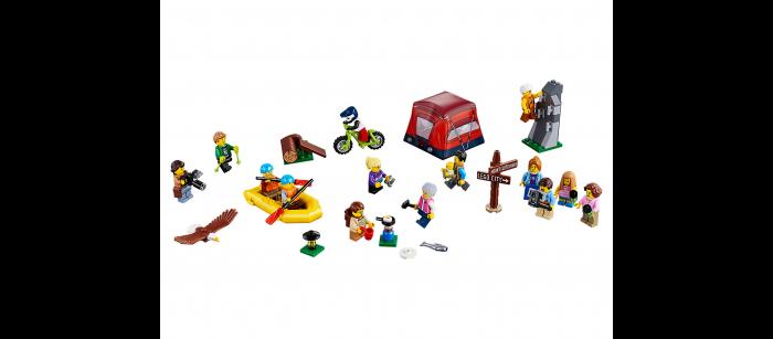 Любители активного отдыха - Лего 60202
