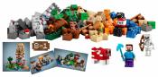 Лего 21116 Построй свои шахты Minecraft