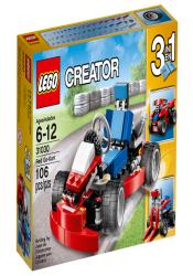 ЛЕГО 31030 Красный гоночный карт CREATOR
