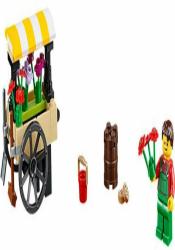 Лего 40140 Цветочная тележка