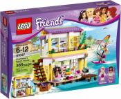 Купить конструктор LEGO Friends: 41037 Stephanie's Beach House в Москве. Доставка лего по России.