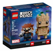 LEGO BrickHeadz Грут и Ракета