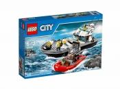 ЛЕГО 60129 Полицейский патрульный катер City