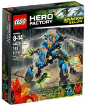 Купить конструктор LEGO Hero Factory Heroes: 44028 SURGE & ROCKA Combat Machine в Москве. Доставка лего по России.