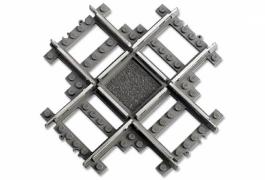 Лего 4519 Железнодорожные перекрестья 9v