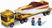 Лего 4643 Транспортер гоночного катера