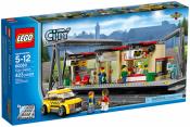 Купить конструктор city лего 60050 железнодорожная станция в Москве доставка по России.