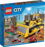 Купить конструктор LEGO Town: City: Construction: 60074 Bulldozer в Москве. Доставка лего по России.