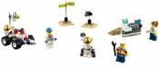 Купить конструктор LEGO Town: City: Space Port: 60077 Space Starter Set в Москве. Доставка лего по России.