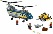 Вертолет исследователей моря (Lego 60093)