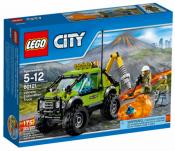 Купить конструктор LEGO City Volcano Explorers: 60121 Volcano Exploration Truck в Москве. Доставка лего по России.
