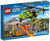 Грузовой вертолет исследователей вулканов (Lego 60123)