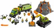 База исследователей вулканов (Lego 60124)