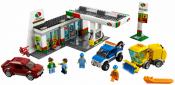 Купить конструктор LEGO Town: City: Gas Station: 60132 Service Station в Москве. Доставка лего по России.