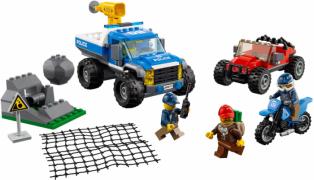 Лего 60172 Погоня по грунтовой дороге