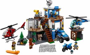 Полицейский участок в горах  (Lego 60174)
